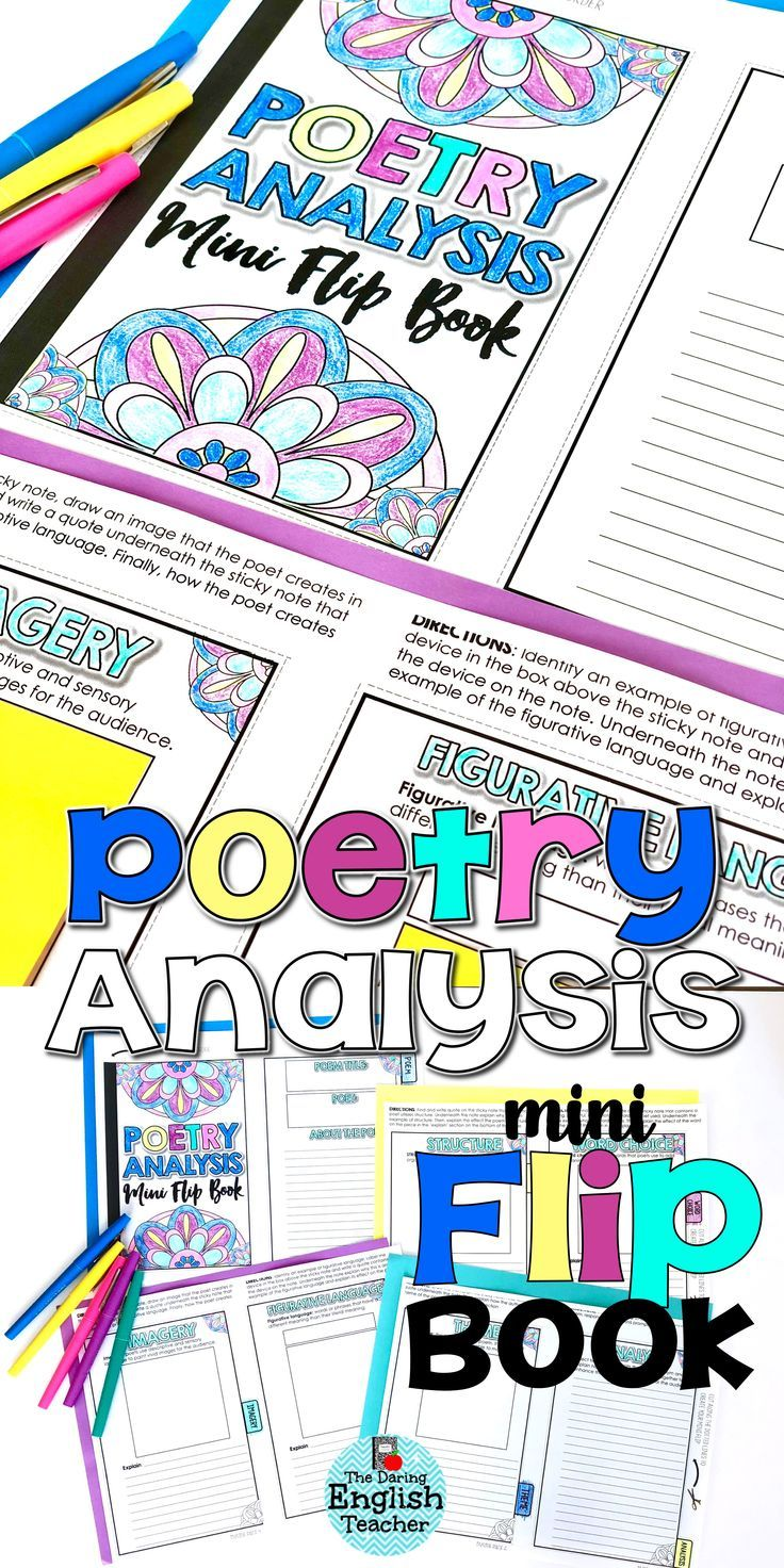 how to write a poem analysis structure
