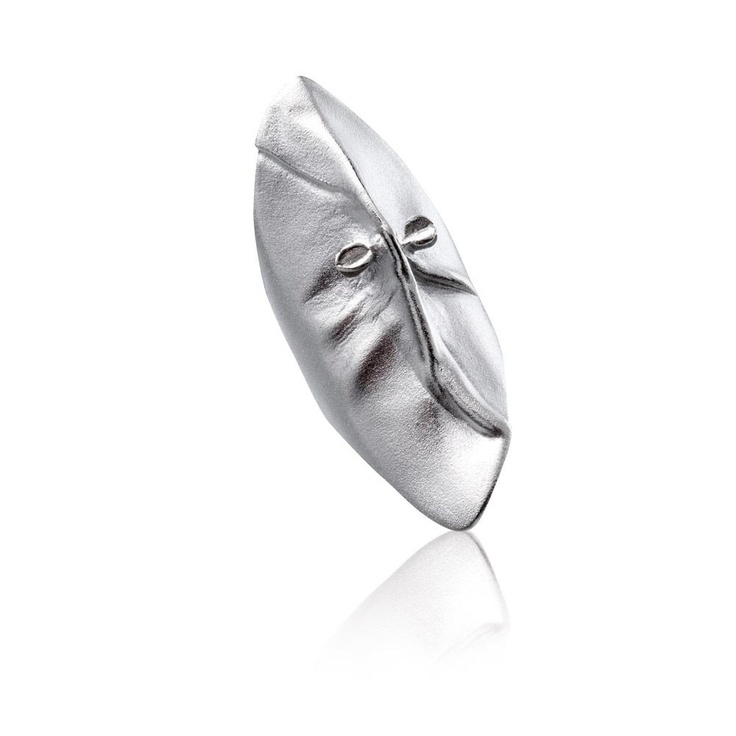 MASK OF GONDA Silver Ring / Design Björn Weckström / Handmade in Helsinki / Lapponia Jewelry