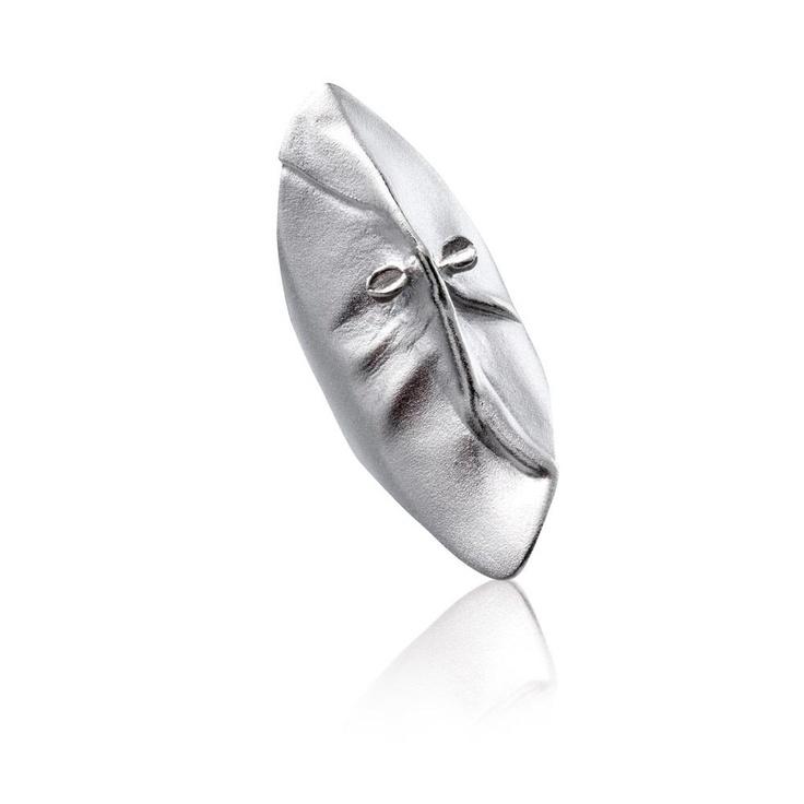 MASK OF GONDA Silver Ring / Design Björn Weckström / Handmade in Helsinki / Lapponia Jewelry