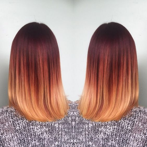Ombre? A definite hot hairstyle trend right now. What's even hotter? Striking red hair! Combine the two and you've got a stunning hair color that turns heads everywhere. These red ombre hair ideas are sure to catch your attention! Burnt Red to Golden Blonde A deep shade of red is left on the upper half[Read the Rest]