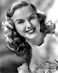 """Deanna Durbin, child-star and singer, who was awarded the Juvenile Academy Award at 17. Durbin appeared in numerous films during the 1930's and 1940's.  Her first film debut with Judy Garland, in Every Sunday.  Other films such as Three Smart Girls and 100 Men And A Girl.  As she grew older she tired of the """"girl-next-door"""" and began staring in films such as Christmas Holiday and Lady on a Train.  Married producer-director, Charles Henri David in 1950 (his death, 1999). She was 91. (April…"""