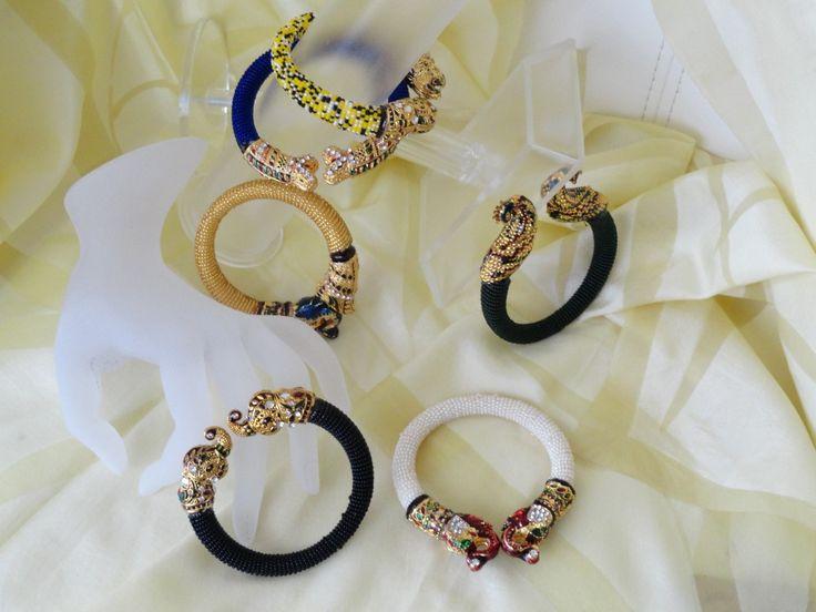 Indian Jewelry- Bracelet- Minakari & bead Jewellery. White beads with – Artikrti