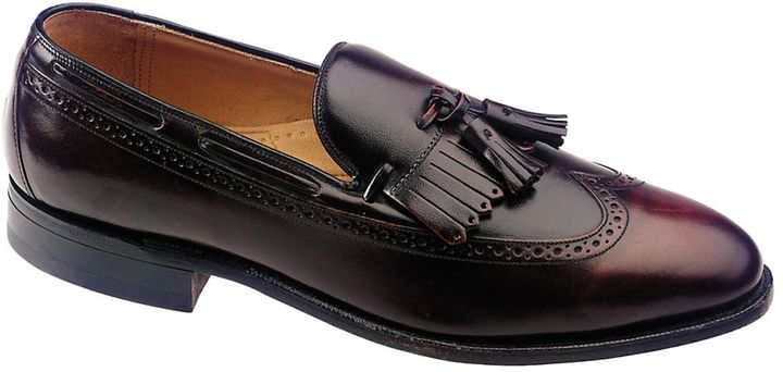 Burgundy Leather Tassel Loafers by Johnston & Murphy. Buy for $39 from Johnston & Murphy