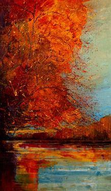 """Saatchi Online Artist Justyna Kopania; Painting, """"In October..."""""""