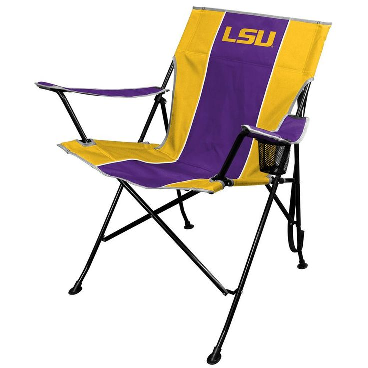 LSU Tigers NCAA Tailgate Chair and Carry Bag