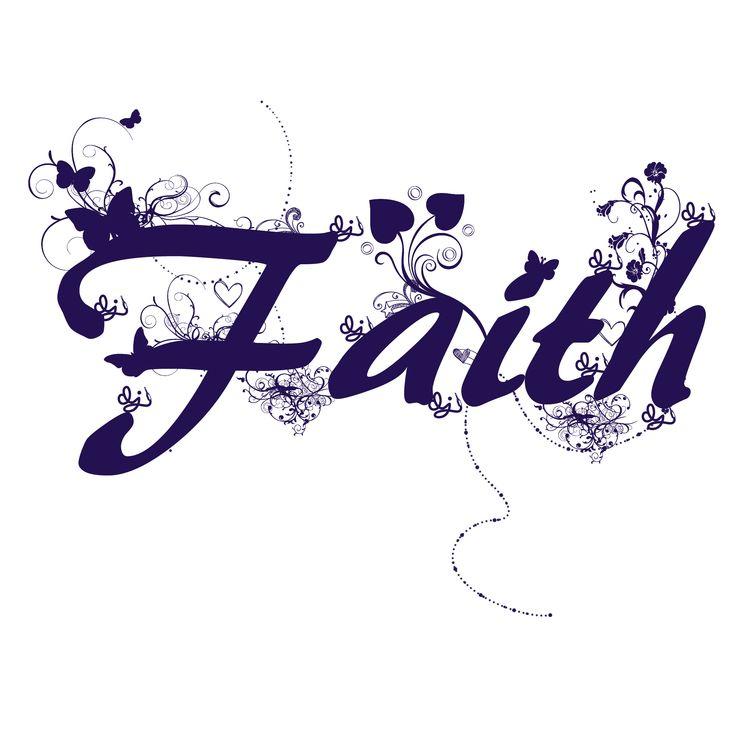 Faith word art for shop design word art pinterest