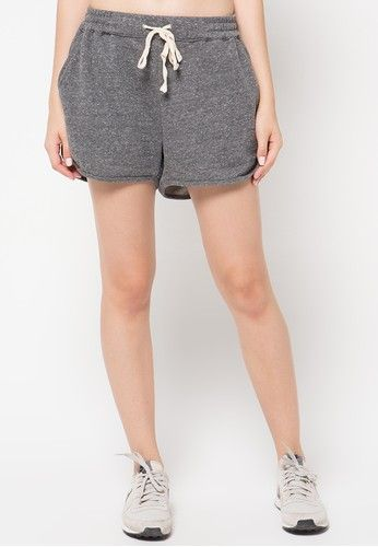 Greys Running Shorts from B-Side by Bleach Project in grey_1