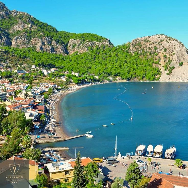 The Turunc village is a gorgeous and picturesque beach resort of Marmaris hidden away in a wonderful bay 20 km on the southern coast of Marmaris. You can visit Turunç Bay by taxi boats.