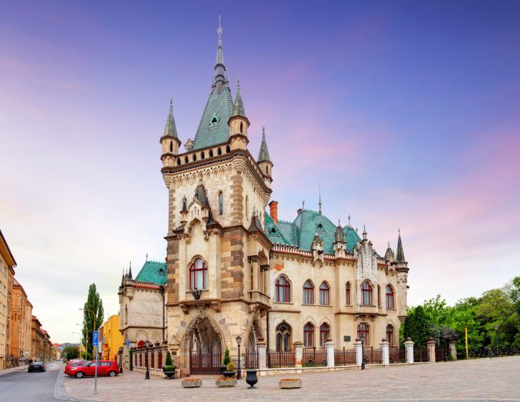 Jakabov Palace,  Kosice, Slovakia