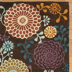 .Bedrooms Rugs, Dining Room Rugs, Dining Room Tables, Area Rugs, Living Room, Kimonos Prints, Jute Rugs, Dining Room Colors, Flower Pattern