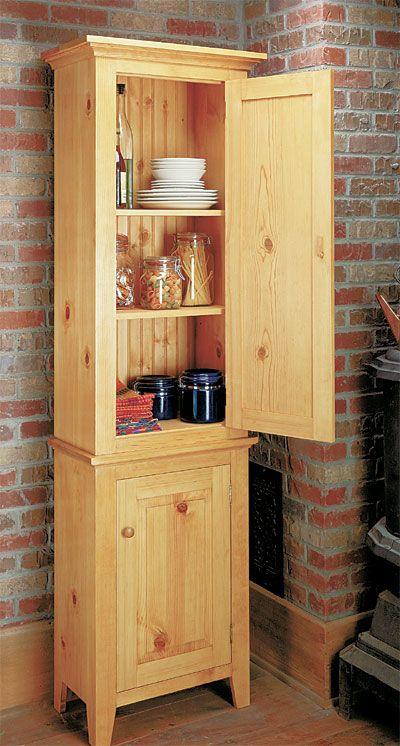 Chimney Cupboard Woodworking Plan