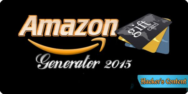 Amazon gift card code generator free download from this link http ...
