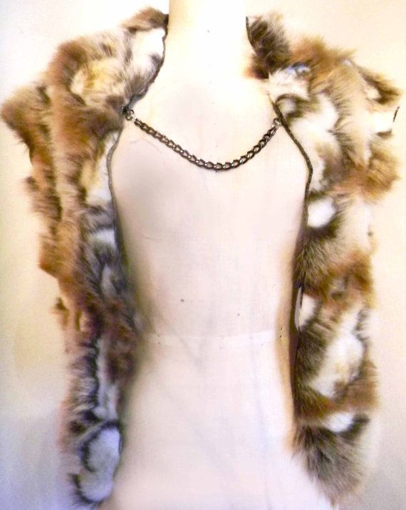 Faux Fur Cape by Luv Warrior lady's version by LuvWarrior on Etsy, $64.00