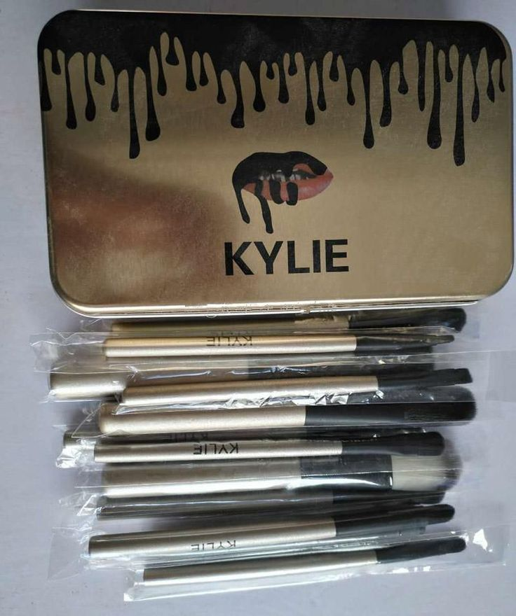 #12 pcs/Set Makeup Brushes Professional Makeup Set Kit with Retail Box UNBRANDED #Unbranded