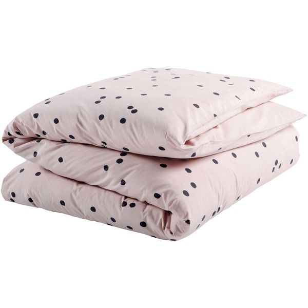La cerise sur le gateau duvet cover odette biscuit 260 ($339) ❤ liked on Polyvore featuring home, bed & bath, bedding, duvet covers, french pillow cases, neon bedding, polka dot pillowcases, french bedding and polka dot bedding