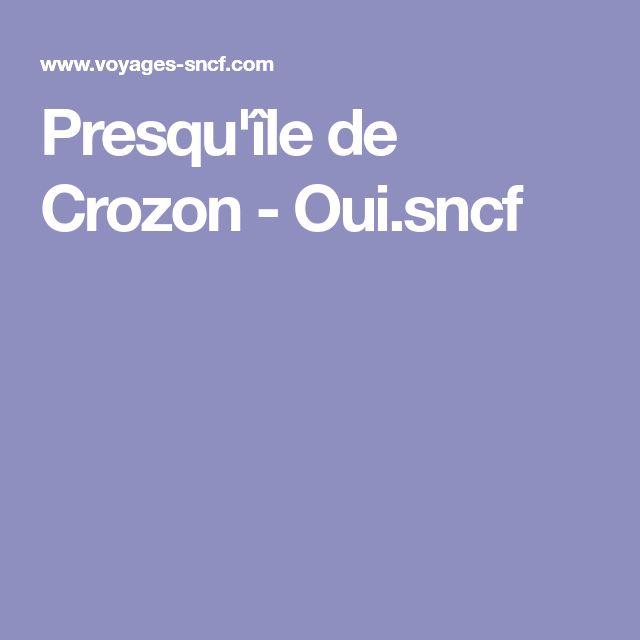 Presqu'île de Crozon - Oui.sncf