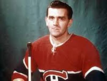 """Maurice """"The Rocket"""" Richard was the first NHL player to score 50 goals in a season and unquestionably the best goal scorer of his era.  He earned his nickname for the speed he showed on the ice."""