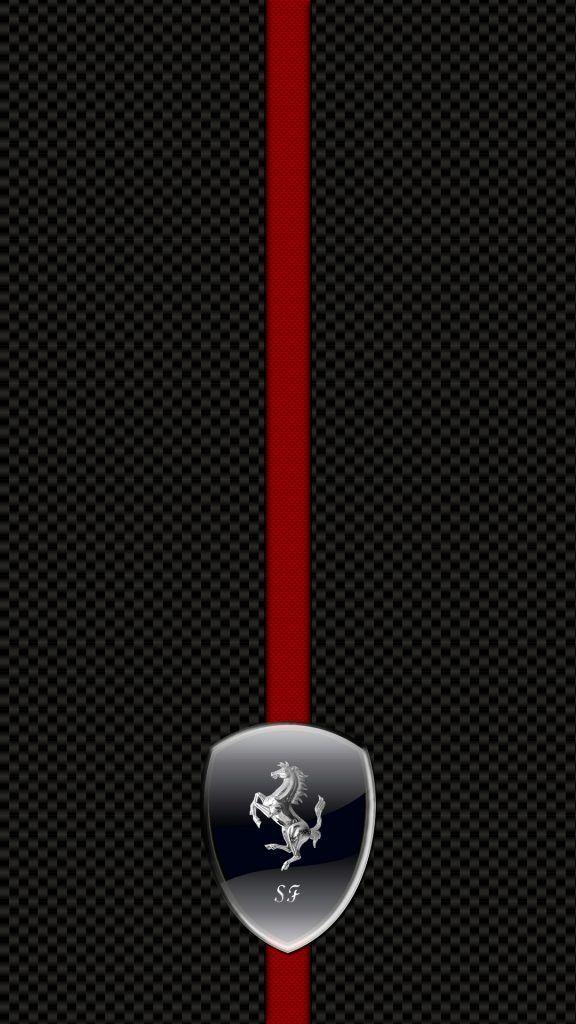 Ferrari Logo Hd Wallpaper For Iphone Fondos De Pantalla De