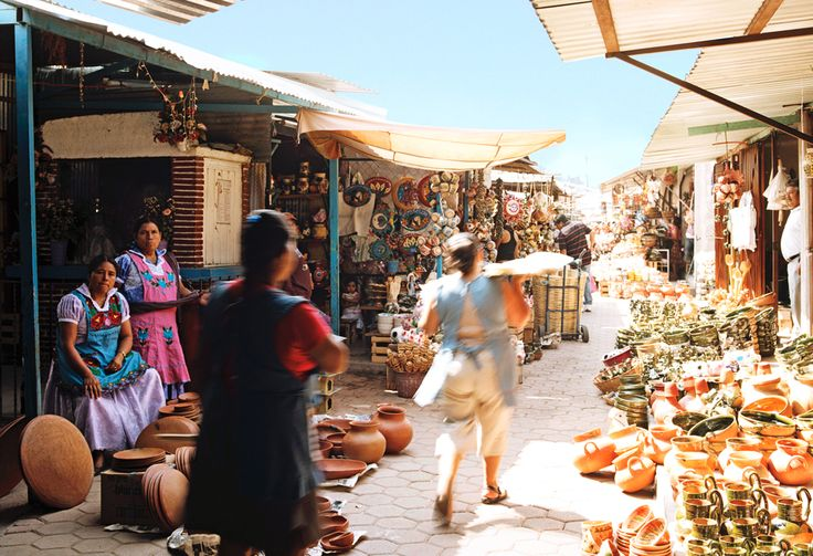 Elise Loehnen maps out the ultimate treasure hunt in the markets of Oaxaca, Mexico