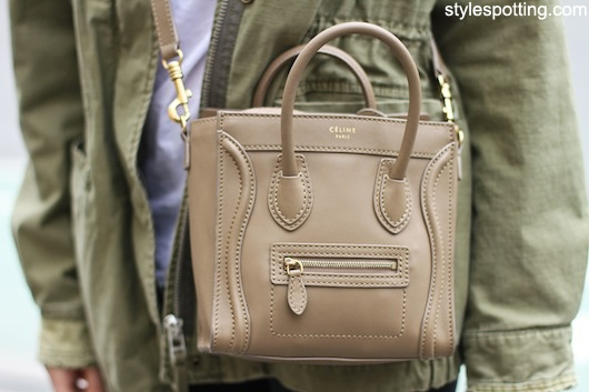 Camel/Taupe/Nude Celine Nano Luggage Tote - So. In. Love. Aaahhh ...