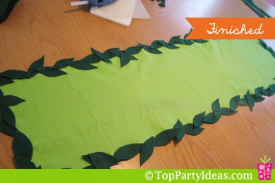 Fairy Party Decoration - Paper Table Runner
