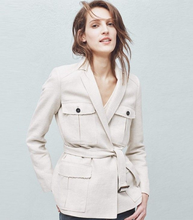 Mango's safari jacket is a timeless investment.                                                                                                                                                                                 More