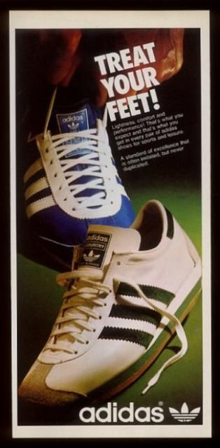Adidas Retro Catalogues vintage