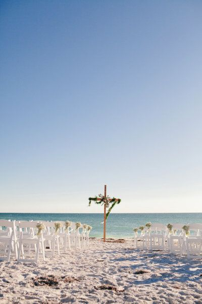 #beach Photography by brookeimages.com Floral Design by beeridgeflorist.com  Read more - http://www.stylemepretty.com/2013/02/07/anna-maria-island-wedding-at-limefish-house-from-brooke-images/