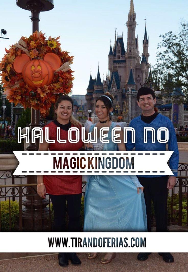 Saiba como passar o Halloween no parque Disney Magic Kingdom em Orlando.