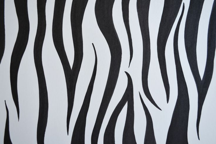 How to Draw Zebra Print (with Pictures)