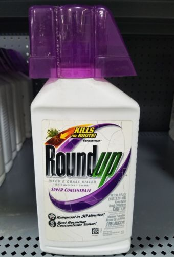 Herbicides and Fungicides 181048: Roundup Weed And Grass Killer Super Concentrate, 35.2-Oz, 5100720 -> BUY IT NOW ONLY: $30 on eBay!