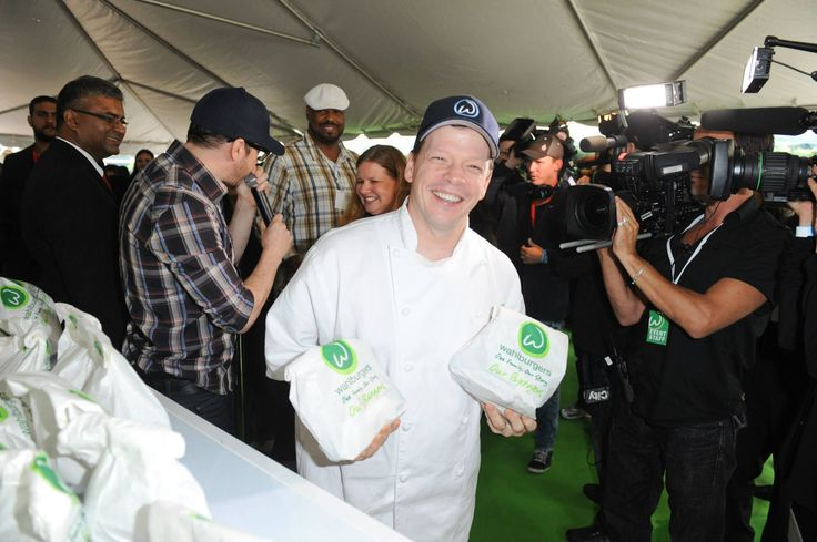 The very talented, Chef Paul Wahlberg.: Chef Paul