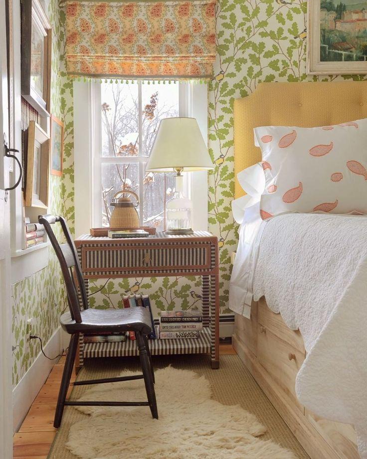 Bedroom | Wallpaper Waldemar |Sandberg Wallpaper