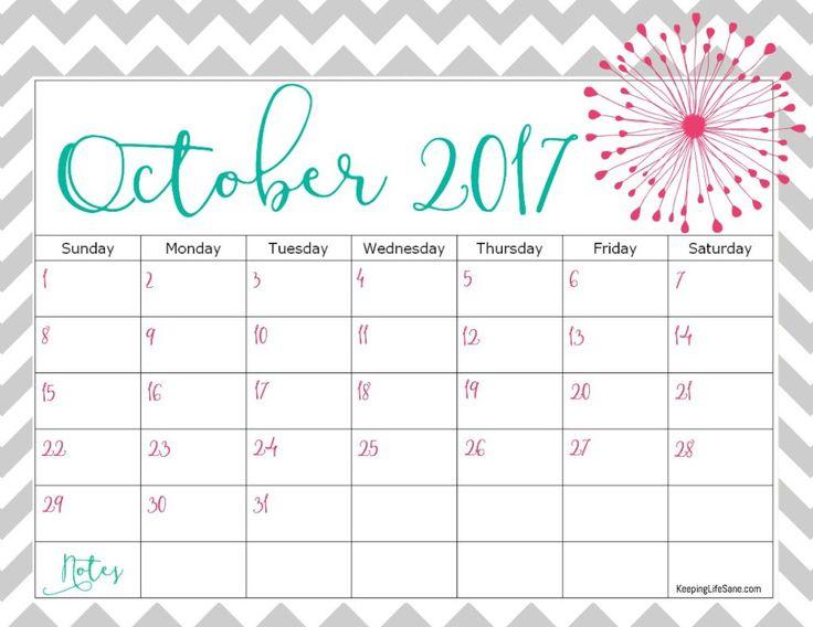 17 best calendar images on Pinterest Calendar, Calendar ideas - printable 2017 calendar