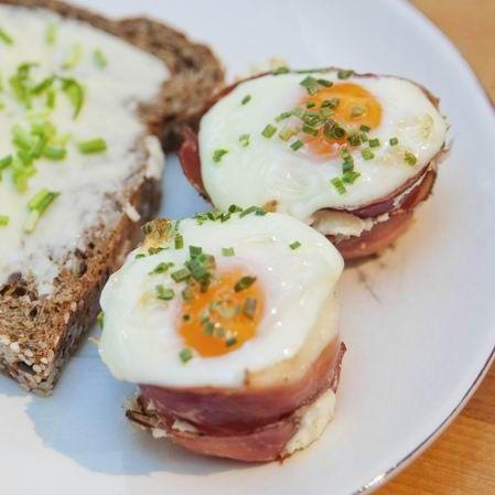 Egy finom Muffinsütőben sült sonkás tojás  ebédre vagy vacsorára? Muffinsütőben sült sonkás tojás  Receptek a Mindmegette.hu Recept gyűjteményében!