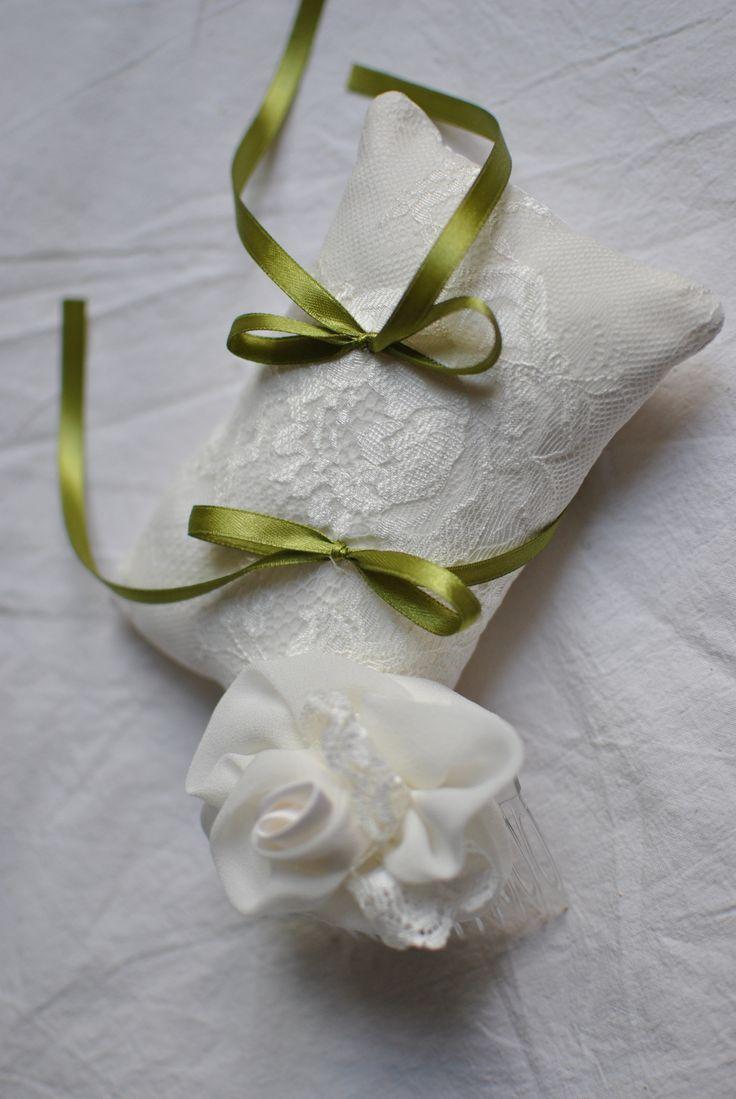 Cuscinetto abbinato ad abito Favole di Seta Sartoria Torino