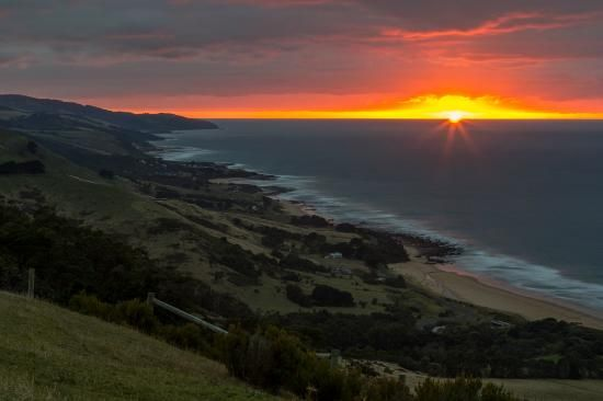Mariners Lookout Sunrise Apollo Bay