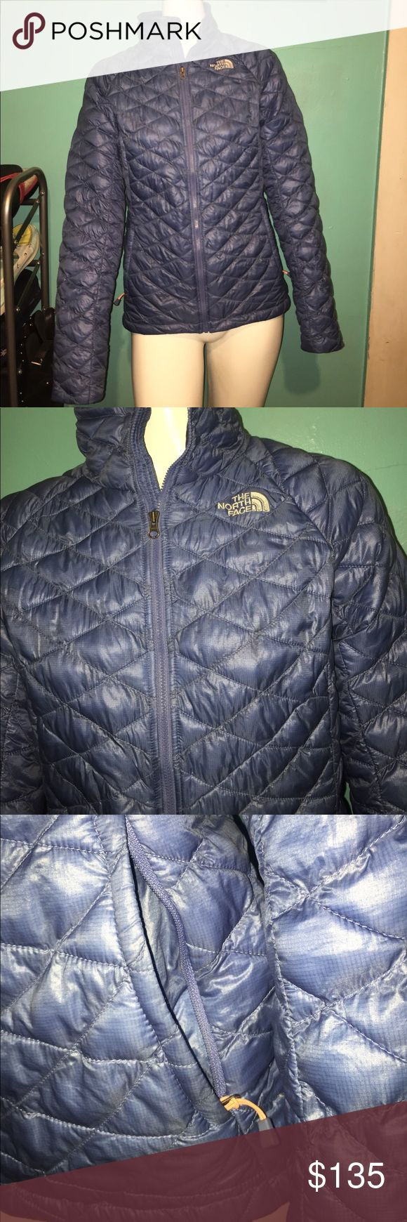 North Face thermoball jacket Perfect condition! Light weight but super warm! Very pretty blue color. North Face Jackets & Coats