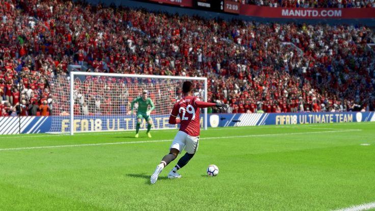 FIFA 18 story mode...