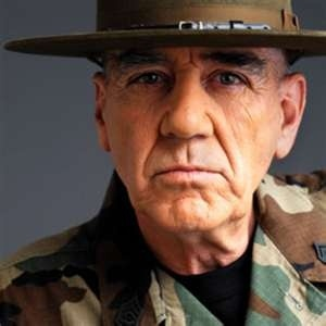 GSGT. R. Lee Ermey (USMC, Ret.)... veteran, actor and activist... just one cool dude. Semper Fi, Gunny! - hosted MAIL CALL, LOCK 'N LOAD; appeared in FULL METAL JACKET, etc.