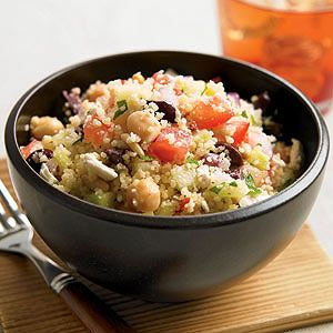 Perfect for a light lunch, this Greek salad gets some spark from briny Kalamata olives.