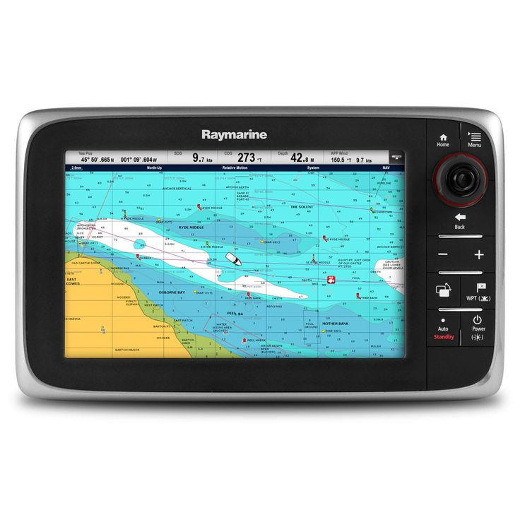 Raymarine c95 Multifunction Display - Lighthouse Navigation Charts - NOAA Vector