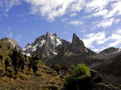 Mt Kenya, Kenya - 5,199 m.
