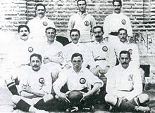 Real Madrid team in 1905