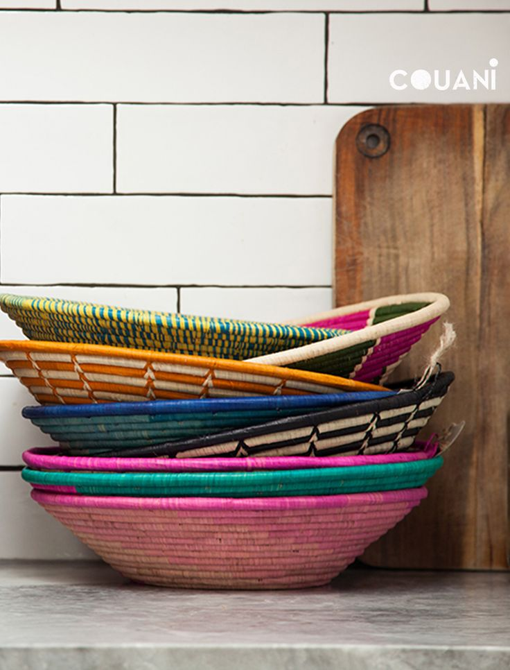 COUANI Catalogue 2014 // stacks of colour - so many to choose from couani bowls // couani.com.au