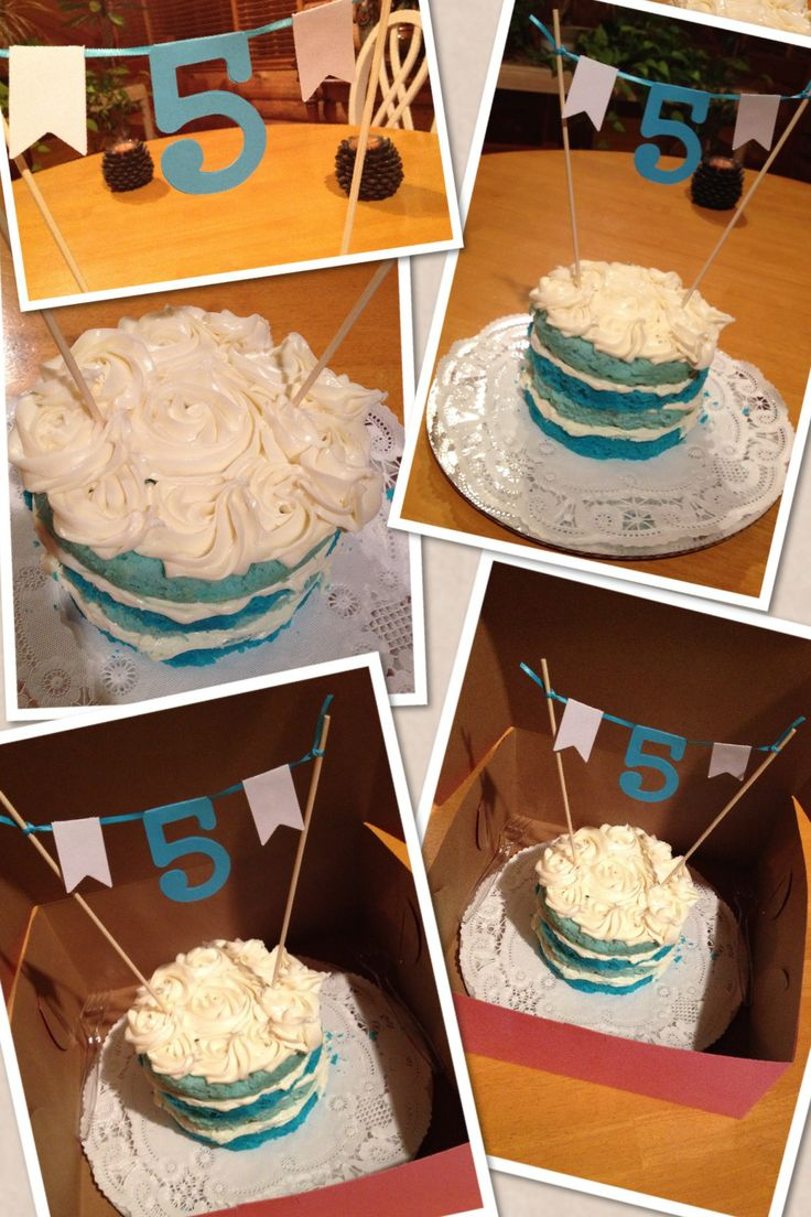 5th Wedding Anniversary Cake Made by: Robin Blake