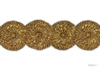 This awesome design is of Gota Patch . Its product code is: 004374 , Its size is: 70 mm. Material used is 100% Polyester . This Gota Patch comes with Cording Gota work , Gota work decoration. As seen design pattern is Flower . Locally this lace is also known as Gota Patch . This Gota Patch item have 1 colors available in this design. This lace can also be used in God Dress , Salwar Kameez , Saree , Saree Border etc.