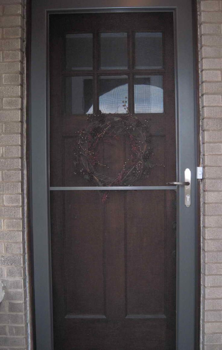 25 Best Ideas About Storm Doors On Pinterest Front