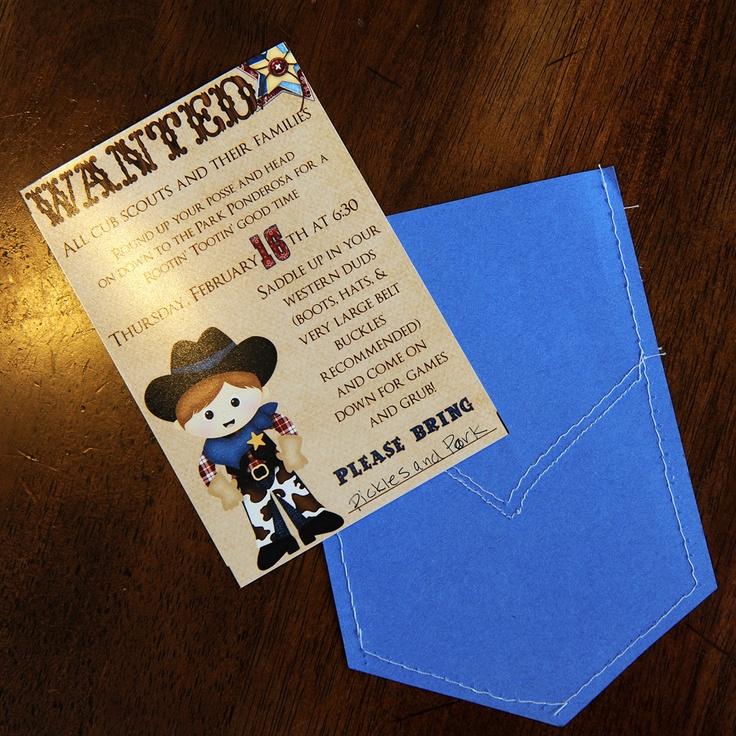 Cub scouts: Blue Gold, Cowboys Theme, Cute Ideas, Poster, Banquet Ideas, Cubs Scouts, Good Times, Westerns Style, Gold Banquet