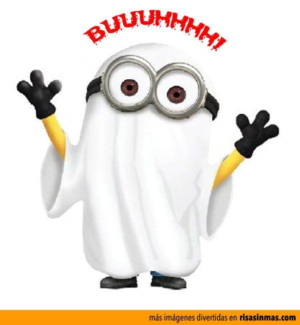 Minion Fantasma de Halloween.